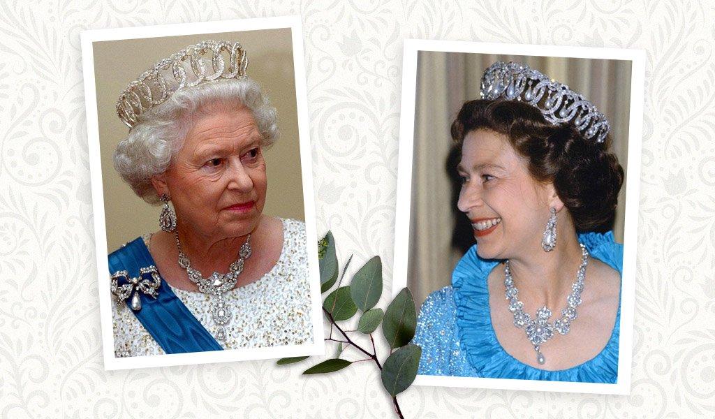 королева елизавета тиары