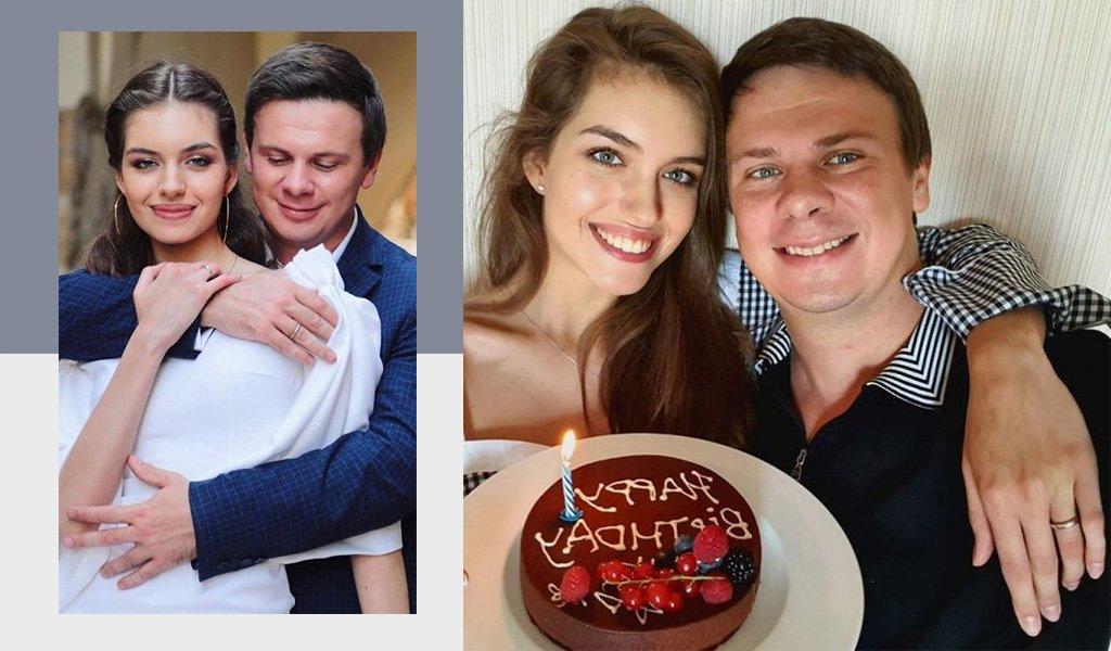 Дмитрий Комаров и Александра Кучеренко свадьба