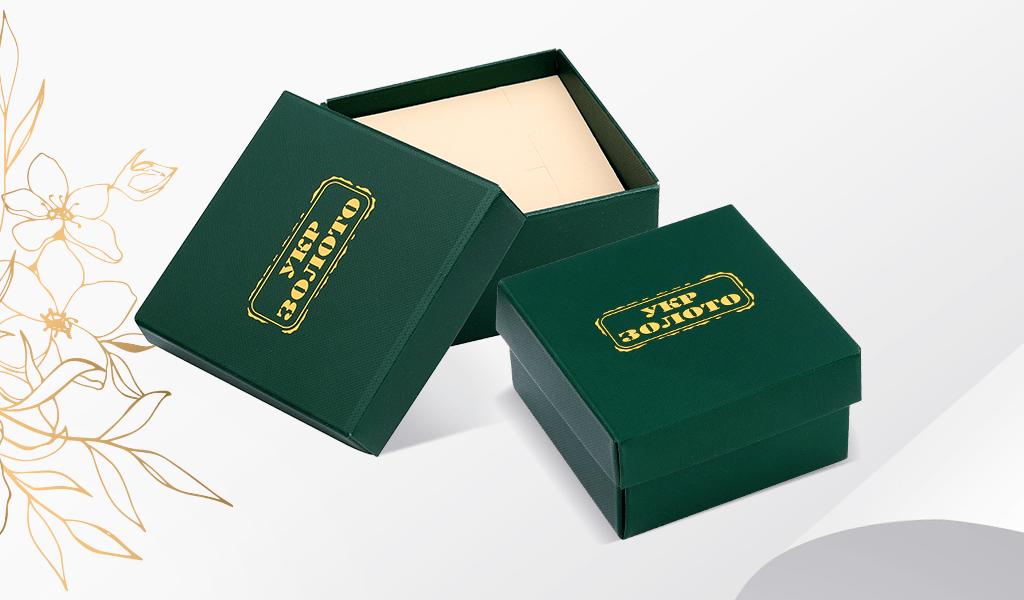 картонная коробка с матовым ламинированием
